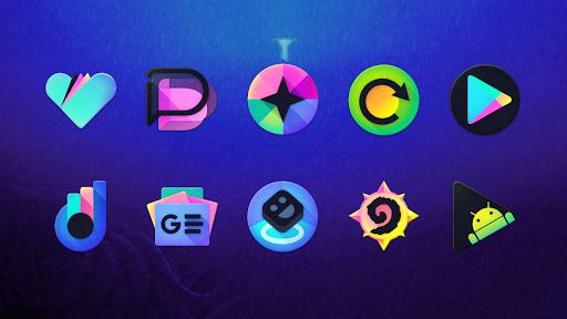 Download APK: Kraken – Dark Icon Pack v8.1 [Patched]