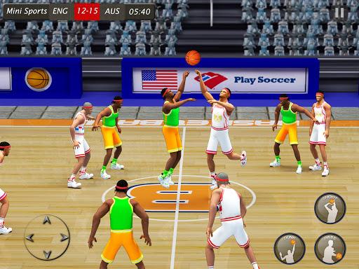 Basketball Hoops Stars: Basketball Games Offline android2mod screenshots 8