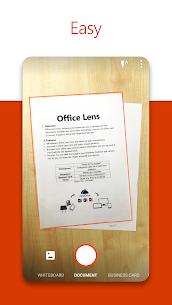 برنامج Microsoft Office Lens PDF Scanner APK 1