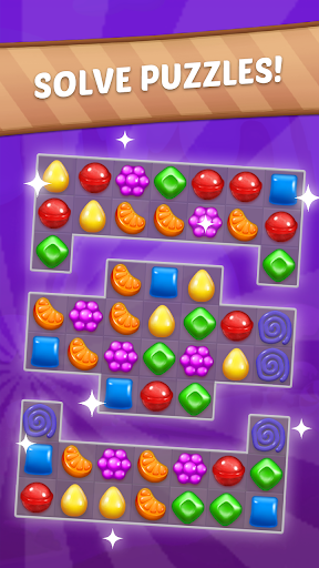 Candy Sweet Story: Candy Match 3 Puzzle 75 screenshots 2