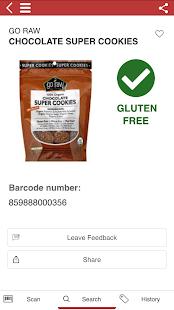The Gluten Free Scanner - Celiac healthy diet