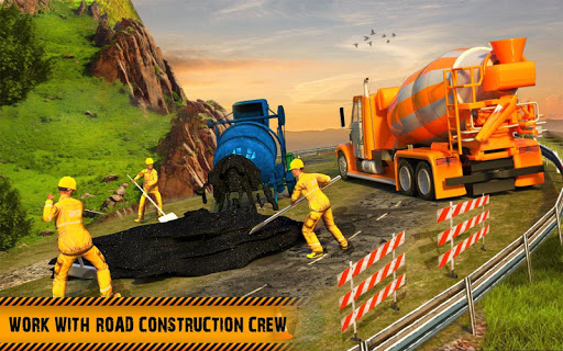 Hill Road Construction Games: Dumper Truck Driving apkdebit screenshots 11