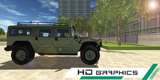 hummer drift car simulator screenshot 2