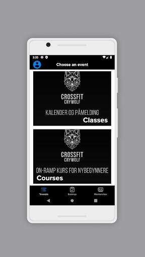crossfit crywolf screenshot 2