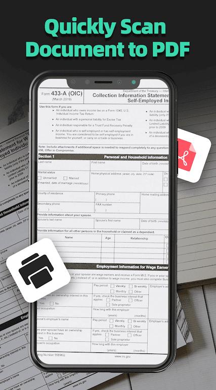 Doc Scanner - Free PDF Scanner & CamScanner  poster 1
