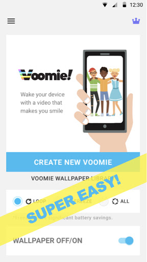 My Video Live Wallpaper Maker - Voomie, Free 2.1.4 screenshots 1