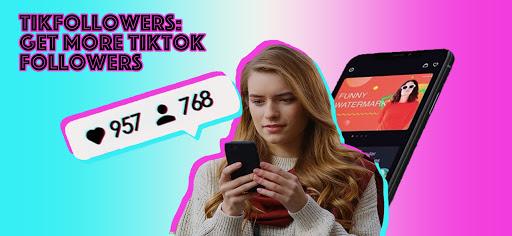 TikFollowers- TikTok get followers, Tik Tok likes  Screenshots 1