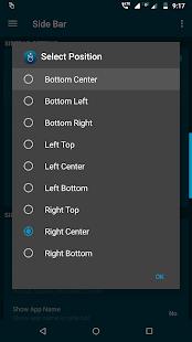 Edge Side Bar - Swipe Apps - App Shortcuts