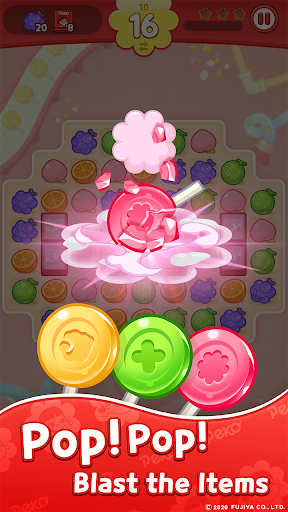 PEKO POP : Match 3 Puzzle 1.2.12 screenshots 3