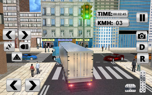 City Truck Pro Drive Simulator screenshots 3