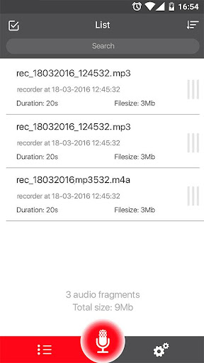 Voice Recorder 49 Screenshots 11