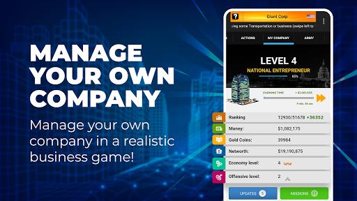 Tycoon Business Game – Empire & Business Simulator  screenshots 1