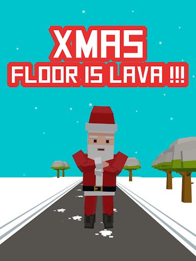 Xmas Floor is Lava !!! Christmas holiday fun ! apkpoly screenshots 11