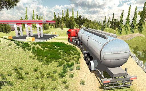 Cargo Oil Tanker Simulator - Offroad Truck Racing 1.5 screenshots 3