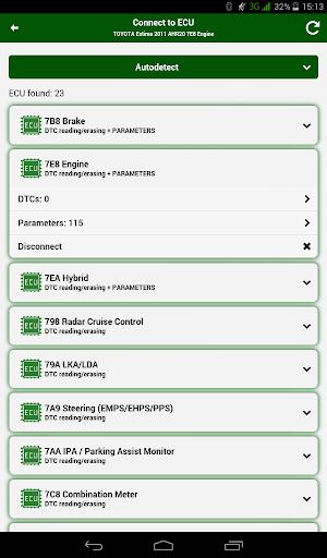 Doctor Hybrid ELM OBD2 scanner. MotorData OBD 1.0.8.33 Screenshots 11