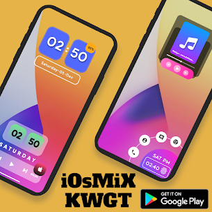 iOsMiX KWGT (MOD APK, Paid) v15.0 5