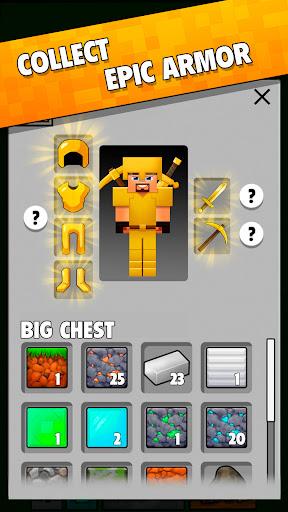 Minetap: Epic Clicker! Tap Crafting & mine heroes 1.5.5 screenshots 4