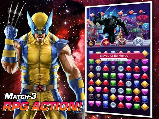 MARVEL Puzzle Quest: Join the Super Hero Battle! Apkfinish screenshots 10