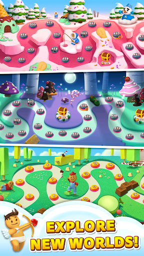 Sweet Road: Cookie Rescue Free Match 3 Puzzle Game screenshots 6