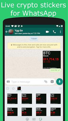 Crypto Stickers for WhatsAppのおすすめ画像1