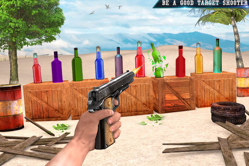 Real Bottle Shooting Free Games: 3D Shooting Games 20.6.0 screenshots 8