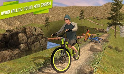 BMX Offroad Bicycle rider Superhero stunts racing screenshots 3