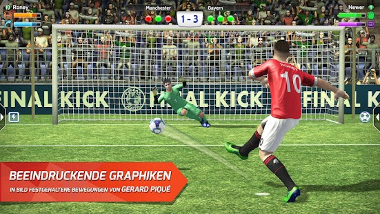 Final Kick 2018: Online Fußball Screenshot