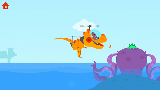 Dinosaur Helicopter - Games for kids  screenshots 4