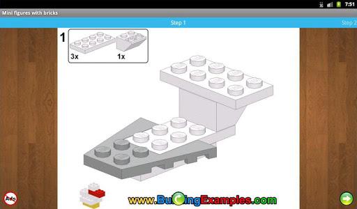 Mini figures with bricks  screenshots 10