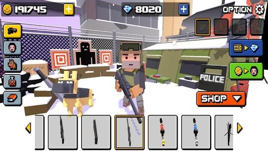 Pixel Zombie Frontier 5