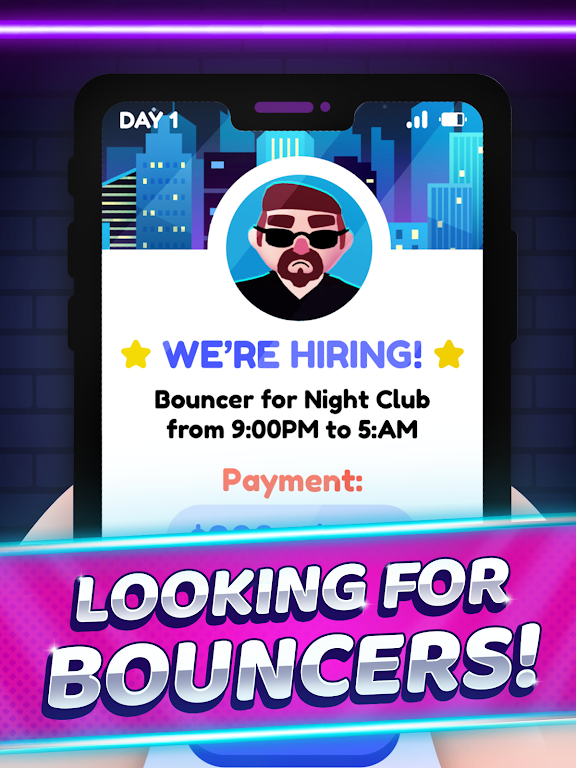 ID Please - Club Simulation poster 10