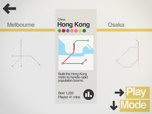 Mini Metro Varies with device screenshots 9