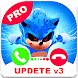New Call Prank From Sonnic - Video Call Hedgehog - Androidアプリ