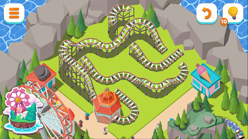 Coaster Builder: Roller Coaster 3D Puzzle Game 1.3.5 screenshots 7