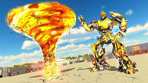Tornado Robot games-Hurricane Robot Transform Game android2mod screenshots 14