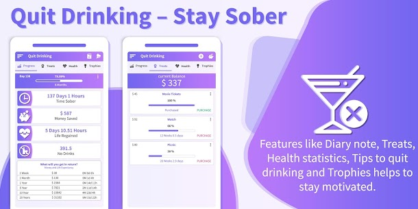 Quit Drinking – Stay Sober (MOD APK, Pro) v1.12 1