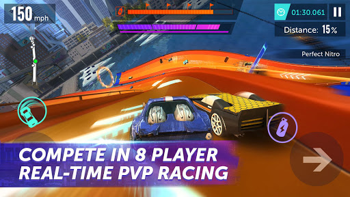 Hot Wheels Infinite Loop apkmartins screenshots 1