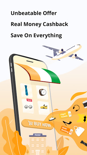 Cheap Flight, Hotel, Coupon & Cashback HappyEasyGo  screenshots 1