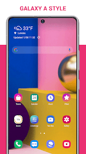 A Launcher 2021 – Launcher for Galaxy A style 2