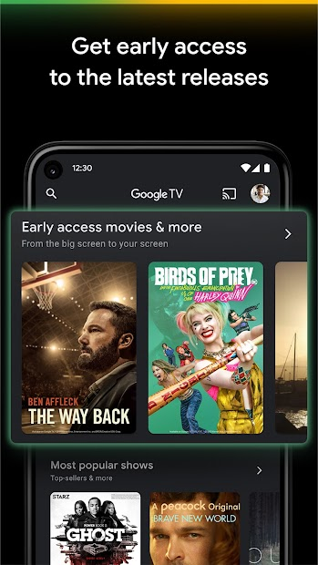 Google TV (previously Play Movies & TV) screenshot 2