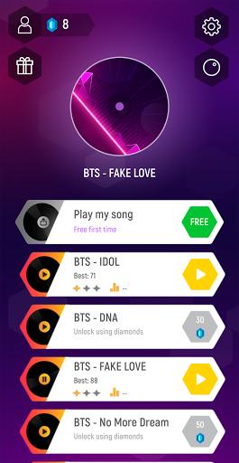 Music Hop : BTS Dance 1.0 Screenshots 1