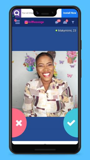 InMessage - Dating, Make Friends and Meet People 1.1 Screenshots 4