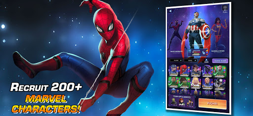 MARVEL Puzzle Quest: Join the Super Hero Battle!  screenshots 2