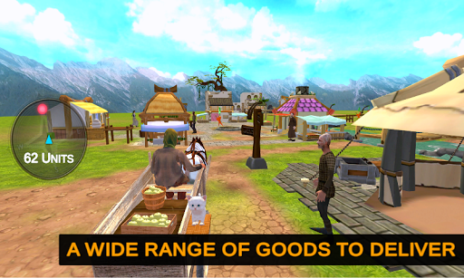 Horse Cart Offroad Farming Transport Simulator  screenshots 3