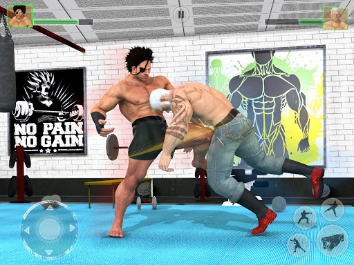 Bodybuilder Fighting Games: Gym Trainers Fight  screenshots 11