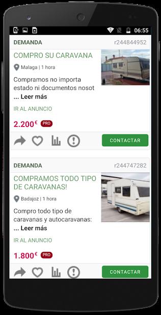 Captura 4 de Caravanas segunda mano España para android