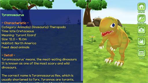 Dinosaur World 3D - AR Camera  screenshots 4