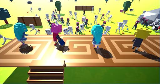 Télécharger Zomcraft.io - IO Zombie Survival and Crafting APK MOD (Astuce) screenshots 2