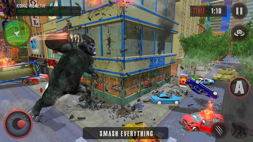 Godzilla & Kong 2021: Angry Monster Fighting Games 3 screenshots 8