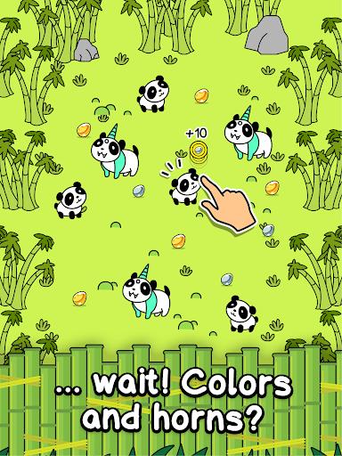Panda Evolution - Cute Bear Making Clicker Game screenshots 6